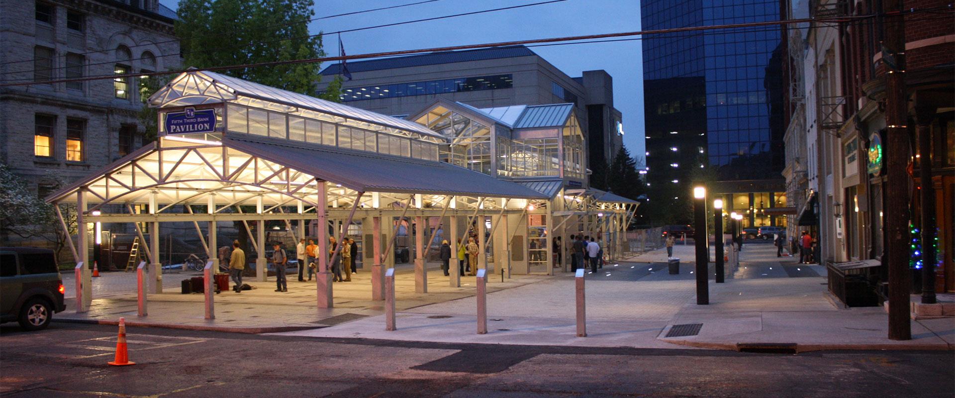 Cheapside Pavilion, Lexington, KY